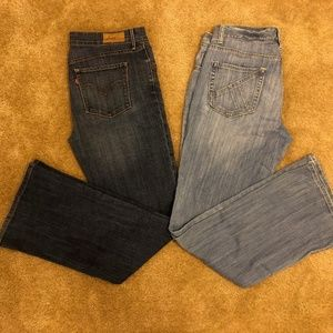 Women's Jeans (Levi's and Gap) - bundle of 2!